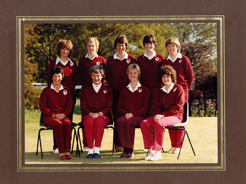 First County Match Week - Ponteland 1984